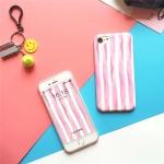 เคส iPhone สีชมพูฟลามิงโก้
