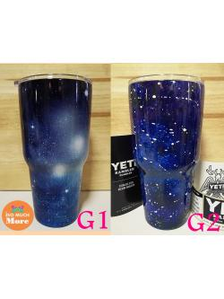 แก้วYETI แก้วเก็บความเย็น แก้วเยติ ลายกาแลคซี่ ซีรี่1 30 oz เกรด304 พร้อมส่ง