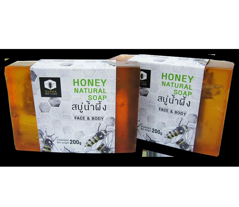สบู่ก้อนน้ำผึ้ง รวงรังผึ้ง