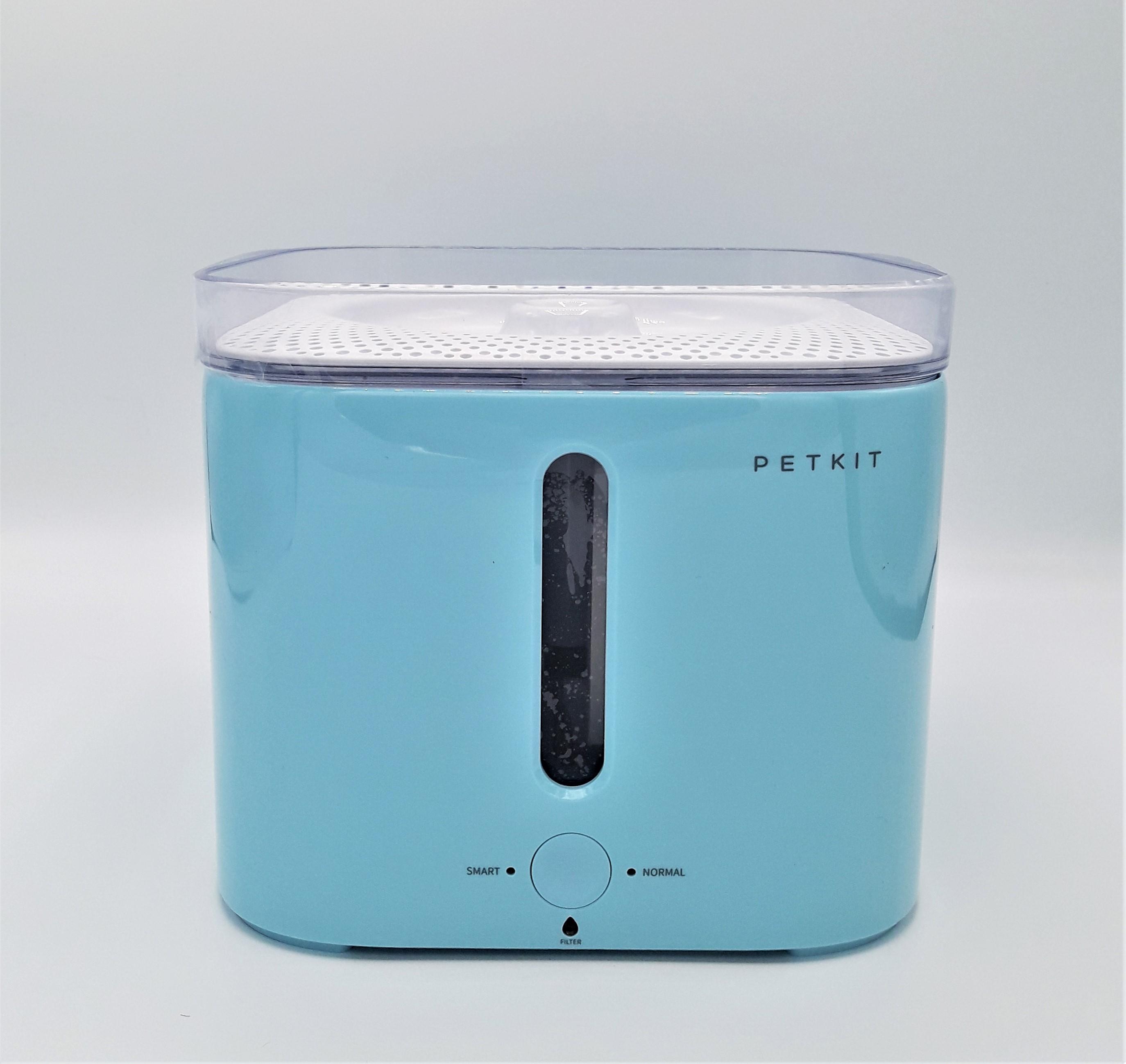 เครื่องให้น้ำสัตว์เลี้ยงน้ำพุแบบกรองน้ำพร้อมระบบอัตโนมัติ PETKIT EverSweetชุดประหยัด สีฟ้า