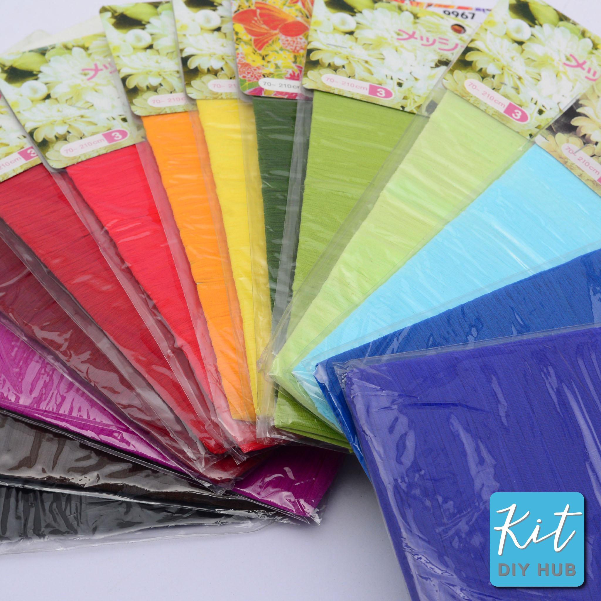 ผ้าใยบัว สีพื้น 14 สี