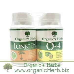 Tonic PNP 60 เม็ด + O-4 Organic's Herbs 60 เม็ด อิ่มท้อง ลดน้ำหนัก กระชับสัดส่วน ล้างลำไส้ ขับไขมัน ทั้งเก่าและใหม่ ระบายไม่มวนท้อง