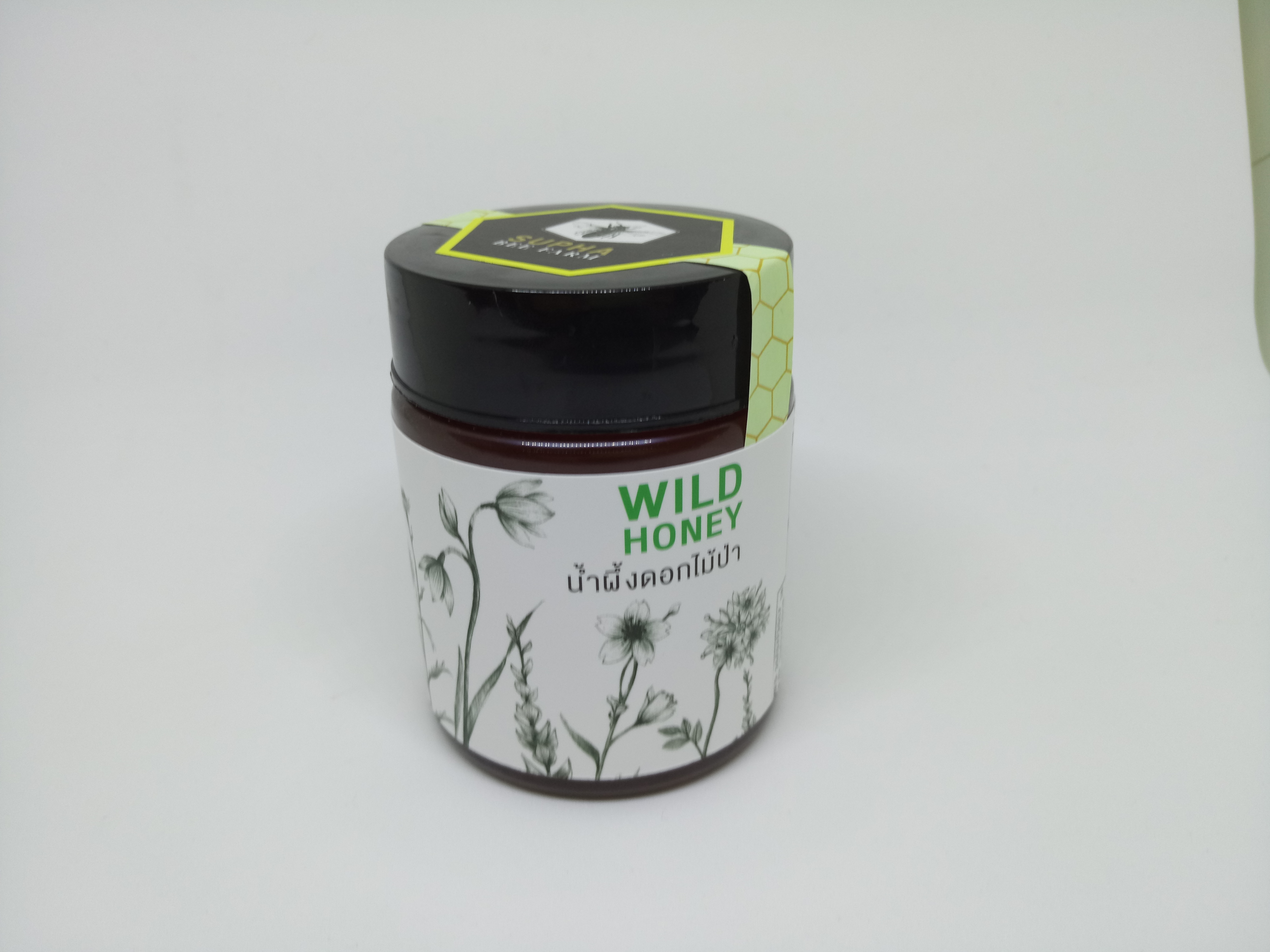 น้ำผึ้งดอกไม้ป่า 300 กรัม (Wild Honey 300g)