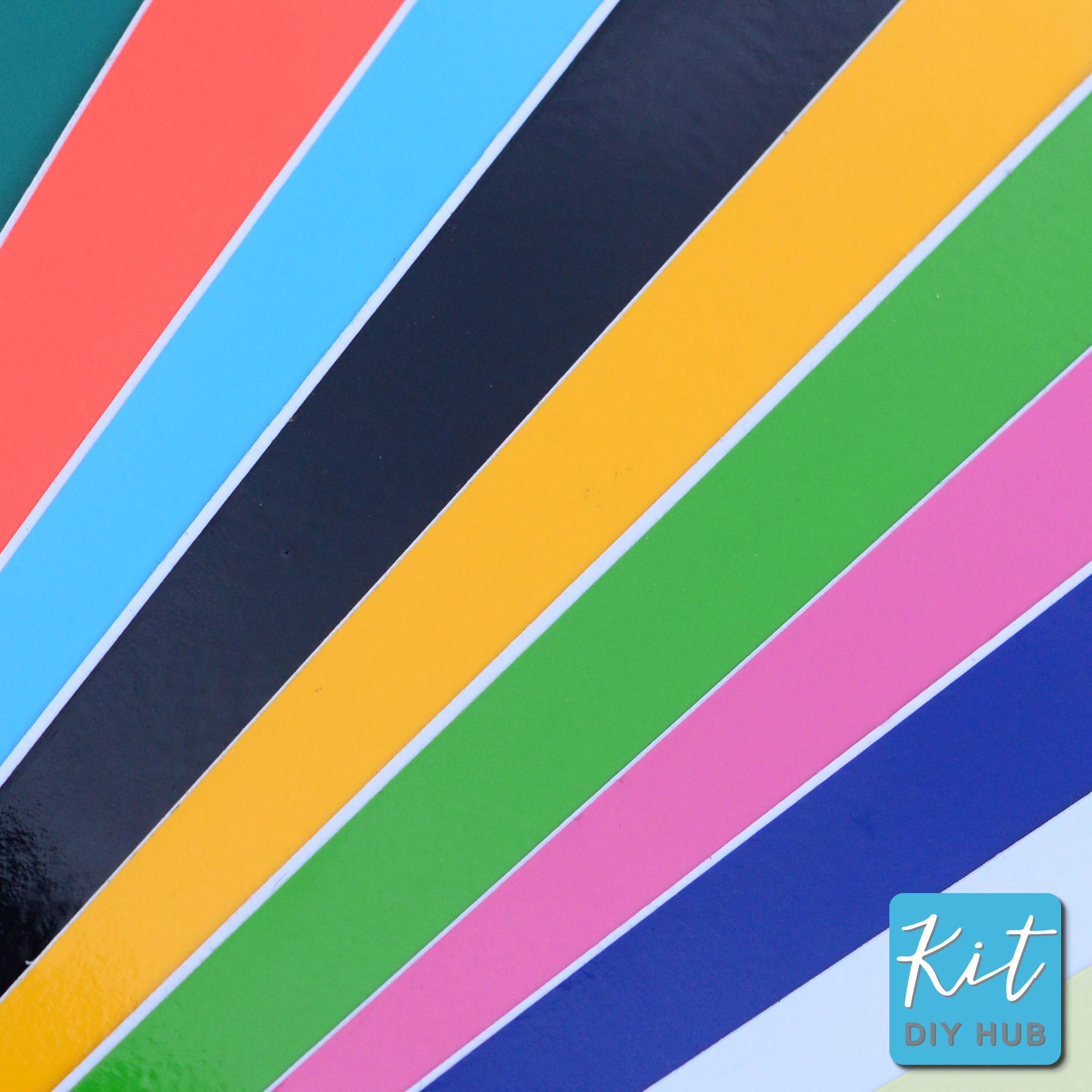 สติ๊กเกอร์ PVC 53x70ซม. 14 สี