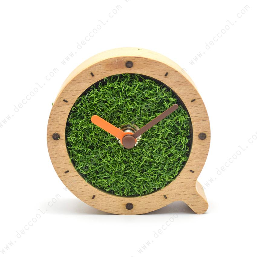 นาฬิกา ตั้งโต๊ะ ไม้ Beech