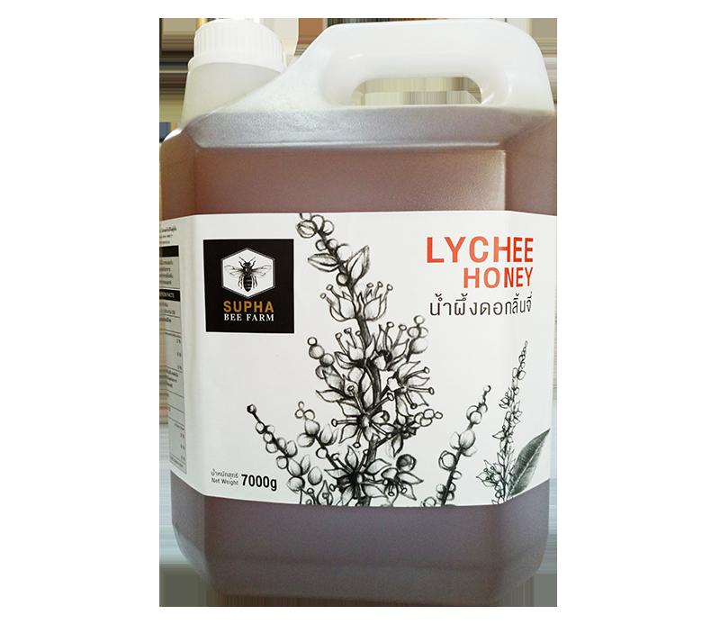 น้ำผึ้งดอกลิ้นจี่ 7 กิโลกรัม (Lychee Honey 1.5kg)