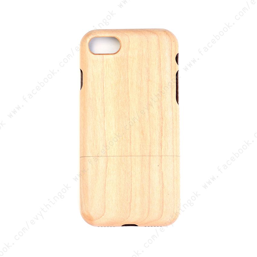 เคสไม้แท้ iPhone 7/8 ไม้เมเปิ้ล