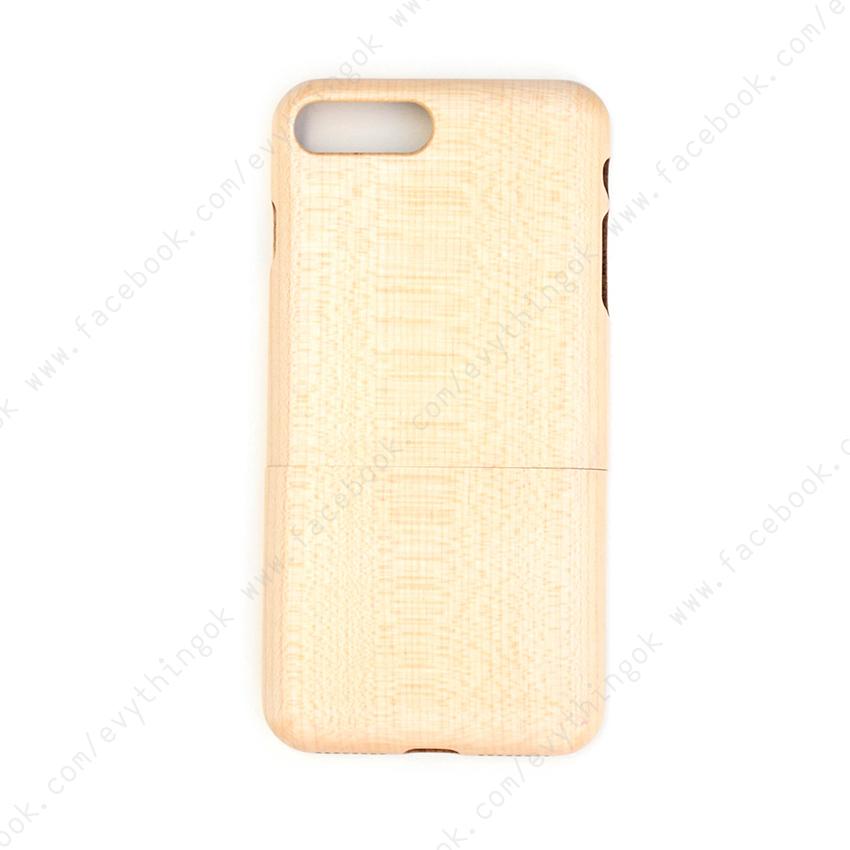 เคสไม้แท้ iPhone 7/8 plus ไม้เมเปิ้ล