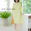 Linen Everyday Dress 👗👗_Yellow