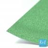 กระดาษกากเพชร A4 เขียว Green