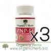 (ซื้อ3 ราคาพิเศษ) PNP-L4 Organic's Herbs 30 เม็ด อกสวย ผิวใส ภายในกระชับ หน้าอกเต่งตึง ประจำเดือนมาปกติ