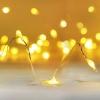 ไฟแฟรี่ ไฟลวด LED ตกแต่ง หักงอได้ ยาว 2 เมตร สีเหลือง