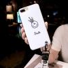เคส iPhone อมยิ้มใส่มงกุฏเพชร สีขาว