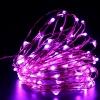 ไฟแฟรี่ ไฟลวด LED ตกแต่ง หักงอได้ ยาว 10 เมตร สีชมพู