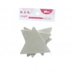 ไม้ประดิษฐ์ สามเหลี่ยม (1x4) 8x8x0.3ซม.