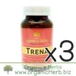 (ซื้อ3 ราคาพิเศษ) TRENA Ogranic's Herbs 90cap ออร์แกนิก เฮิร์บ ทรีน่า สมุนไพรดูแลผิวพรรณ เพื่อผิวขาวกระจ่างใส เนียนนุ่มชุ่มชื้น ไร้ฝ้า