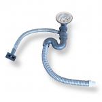 SN-001 ชุดสะดือและท่อน้ำทิ้ง (อย่างดี) อะไหล่ของซิ้งล้างจาน สำเนา