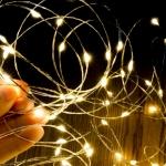 ไฟแฟรี่ ไฟลวด LED ตกแต่ง หักงอได้ ยาว 5 เมตร สีวอร์มไวท์