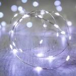 ไฟแฟรี่ ไฟลวด LED ตกแต่ง หักงอได้ ยาว 2 เมตร สีขาว