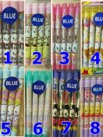 ปากกา น้ำเงิน sanrio ปากกาลูกลื่น หมึกสีน้ำเงิน ปากกาลายการ์ตูน
