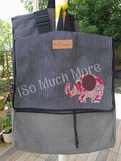 กระเป๋าเป้ ผ้าแคนวาส i007