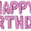 ลูกโป่งฟอยล์ HAPPY BIRTHDAY [ยกเซต] ขนาด 16 นิ้ว-สีชมพูลายมิคกี้