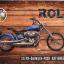 ภาพรถมอไซต์คลาสสิคสีน้ำเงิน ไม้หนา 1cm ขนาด40*60cm win01 thumbnail 1