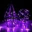 ไฟแฟรี่ ไฟลวด LED ตกแต่ง หักงอได้ ยาว 10 เมตร สีม่วง thumbnail 5