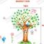 สติ๊กเกอร์ต้นไม้ของสัตว์a524 thumbnail 4