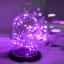 ไฟแฟรี่ ไฟลวด LED ตกแต่ง หักงอได้ ยาว 10 เมตร สีม่วง thumbnail 3
