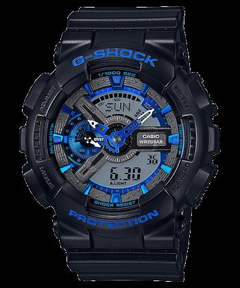 นาฬิกา Casio G-Shock Limited model Cool Blue CB series รุ่น GA-110CB-1A ของแท้ รับประกันศูนย์ 1 ปี