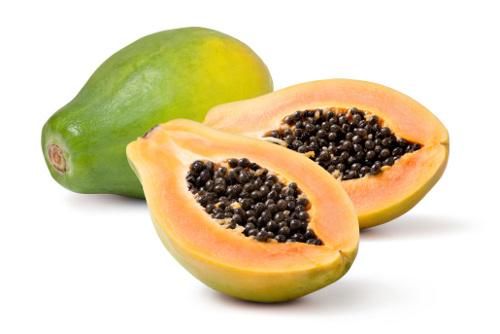 สารสกัดที่มีส่วนประกอบของมะละกอ ซึ่งมีคุณสมบัติเป็น proteolytic enzyme (เอนไซม์ย่อยโปรตีน)