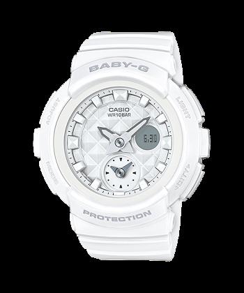 นาฬิกา Casio Baby-G BGA-195 Studs Dial series รุ่น BGA-195-7A ของแท้ รับประกันศูนย์ 1 ปี
