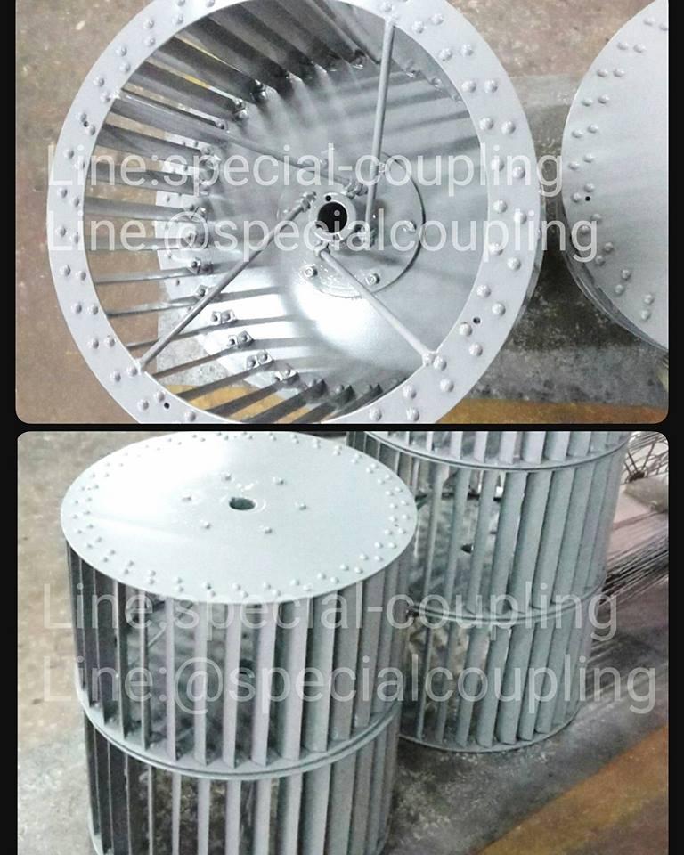 รับผลิตใบพัดลมกรงกระรอกเหล็กย้ำหมุด ขนาด od 505 mm x L 280 mm. พร้อมบาลานส์ ขายปลีกและส่ง ส่งขนส่ง ฟรีค่ะ