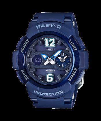 นาฬิกา Casio Baby-G Standard ANALOG-DIGITAL รุ่น BGA-210-2B2 ของแท้ รับประกันศูนย์ 1 ปี