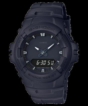 นาฬิกา CASIO G-SHOCK G-100 series Limited Black Out Basic Black color รุ่น G-100BB-1 ของแท้ รับประกัน 1 ปี
