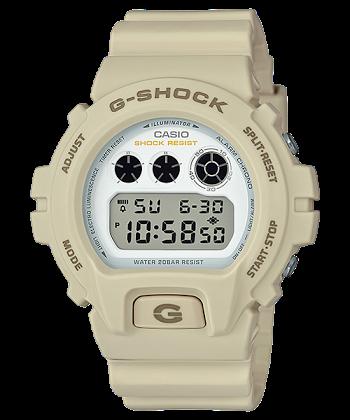 นาฬิกา Casio G-Shock Limited (Ecru) Sand Beige Militey color series รุ่น DW-6900EW-7 (ไม่วางขายในไทย) ของแท้ รับประกันศูนย์ 1 ปี (นำเข้าJapan กล่องหนัง)