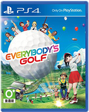 PS4 EVERYBODY'S GOLF (Z3EN)
