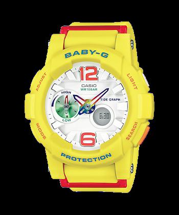 นาฬิกา คาสิโอ Casio Baby-G Standard ANALOG-DIGITAL รุ่น BGA-180-9B ของแท้ รับประกันศูนย์ 1 ปี