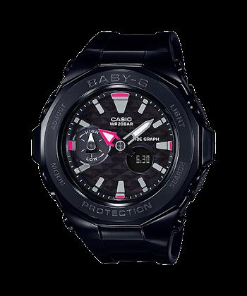 นาฬิกา Casio Baby-G BGA-225 Beach Glamping series หน้าปัดไดมอนด์คัท รุ่น BGA-225G-1A ของแท้ รับประกัน1ปี