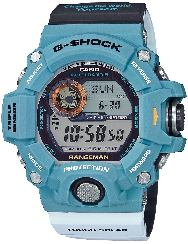 นาฬิกา Casio G-Shock RANGEMAN Love the Sea and The Earth 2016 Japan Limited รุ่น GW-9402KJ-2JR แมวรักษ์โลก [JAPAN ONLY] ไม่มีขายในไทย (หายาก) ของแท้ รับประกันศูนย์ 1 ปี