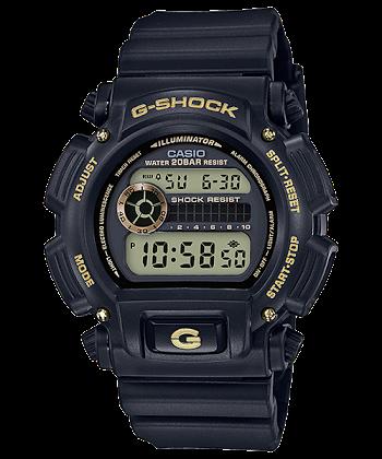 นาฬิกา Casio G-Shock Special Color BLACK&GOLD XTRA Color series รุ่น DW-9052GBX-1A9 ของแท้ รับประกันศูนย์ 1 ปี