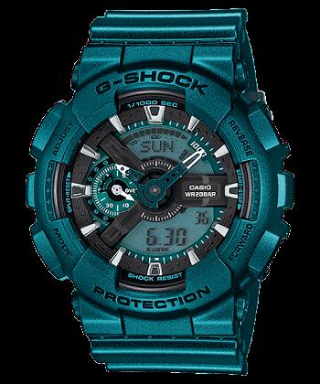 นาฬิกา Casio G-Shock Limited Neo Metallic series รุ่น GA-110NM-3A ของแท้ รับประกันศูนย์ 1 ปี