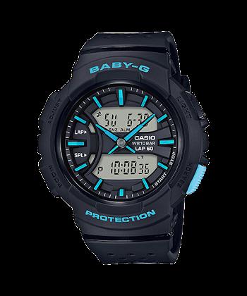 นาฬิกา Casio Baby-G for Running BGA-240 Neon Color series รุ่น BGA-240-1A3 ของแท้ รับประกันศูนย์ 1 ปี