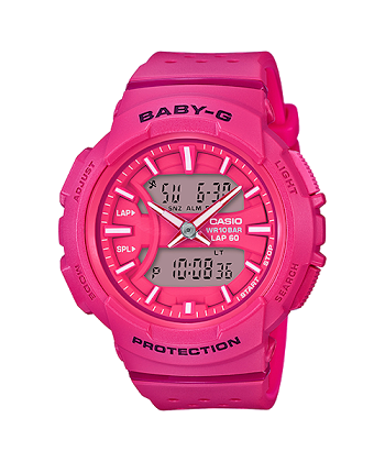 นาฬิกา Casio Baby-G for Running BGA-240 series รุ่น BGA-240-4A ของแท้ รับประกันศูนย์ 1 ปี