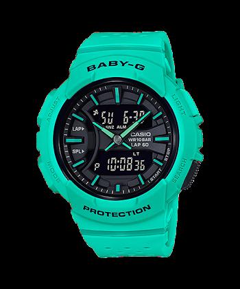 นาฬิกา Casio Baby-G for Running BGA-240 Neon Color series รุ่น BGA-240-3A ของแท้ รับประกันศูนย์ 1 ปี