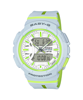 นาฬิกา คาสิโอ Casio Baby-G for Running BGA-240L Love to Run series รุ่น BGA-240L-7 ของแท้ รับประกันศูนย์ 1 ปี