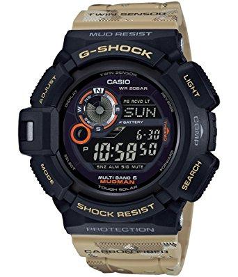 นาฬิกา Casio G-Shock MUDMAN Limited Master in Desert Camouflage series รุ่น GW-9300DC-1 (มัดแมนลายพรางทะเลทราย) ของแท้ รับประกันศูนย์ 1 ปี