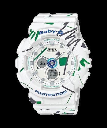 นาฬิกา Casio Baby-G Scratch Graffiti Design series รุ่น BA-120SC-7A ของแท้ รับประกันศูนย์ 1 ปี