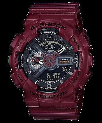 นาฬิกา Casio G-Shock Limited Bordeaux Wine color series รุ่น GA-110EW-4AJF (ไม่วางขายในไทย) ของแท้ รับประกันศูนย์ 1 ปี (นำเข้าJapan)